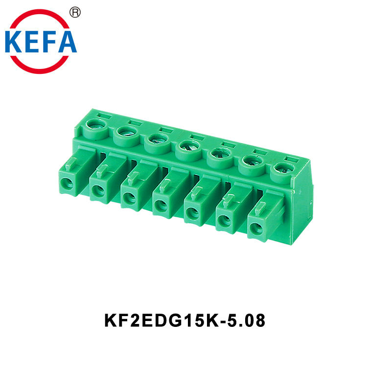 3.81mm Pitch, 2P 3.81mm Rated 300V10A 2Poles PCB Screw Terminal Block Connector Pitch PCB Screw Terminal Block E-Simpo 0.15