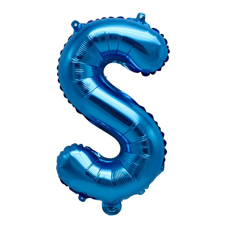 Bright colors happy birthday 16 inch letter foil balloons
