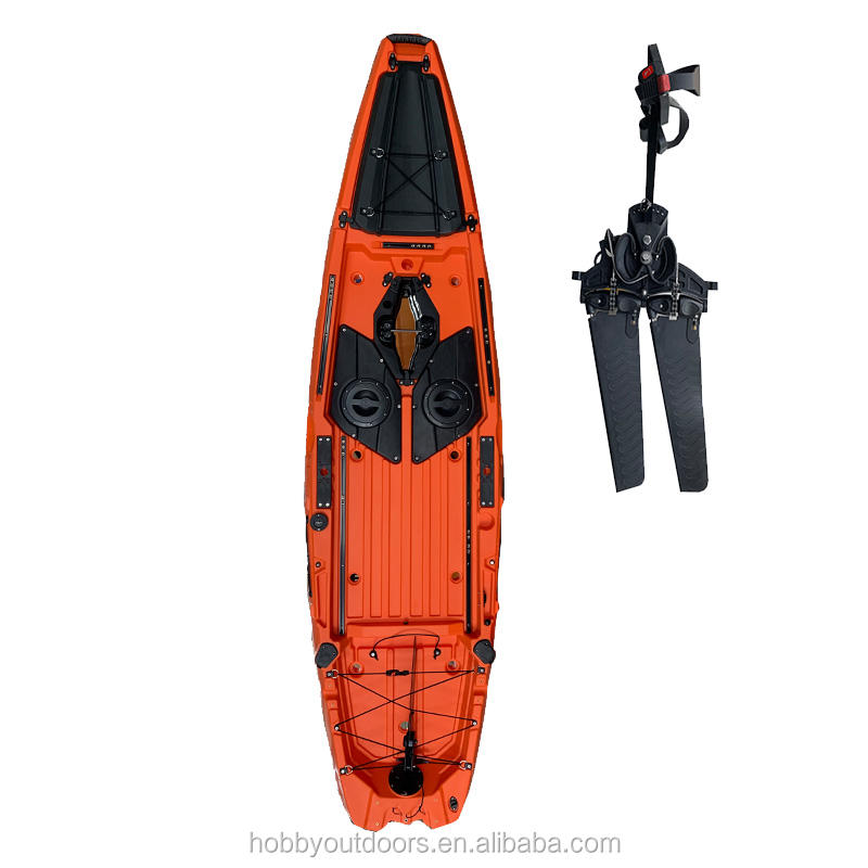 Wholesale Customized Good Quality Ocean Waters Electric <span class=keywords><strong>Motor</strong></span> Fishing Single Rigid Kayak