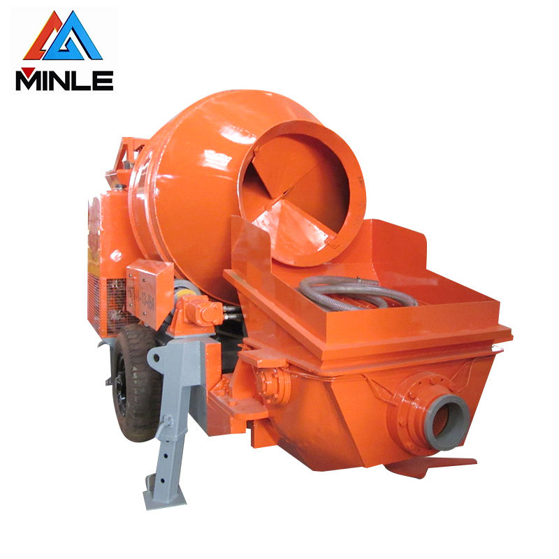30m3/h diesel engine power concrete mixer machine product