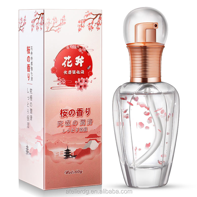 Adult sex products Flower axe pleasure enhanced lubricant 60g female sexual stimulation orgasm fluid lubricant
