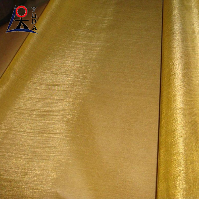 Wholesale brass copper mesh/ customized woven brass copper wire mesh