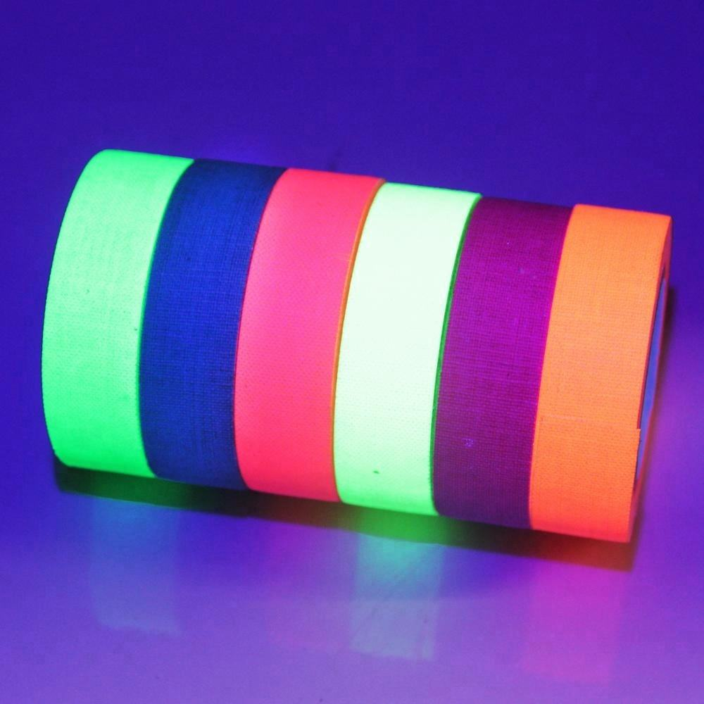 Make-to-Order [ Cloth Duct Tape ] Tape Duct Tape Hotsale UV Fabric Night Light Cloth Gaffer Duct Tape Adhesive