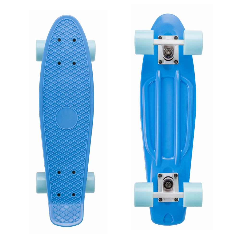 China Manufacturer Cheap 22 Inch Professional with High Rebound PU Wheels Skateboard