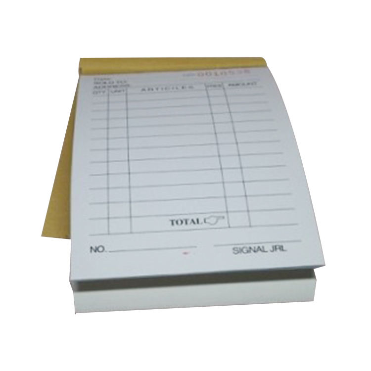 Sell Well New Type Carbonless Triplicate Paper Carbon Sales Forms