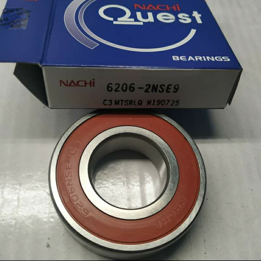 NACHI 6206 -2NSE9 C3 Bearing with C3 Japanese NACHI Deep Groove Ball Bearing Nachi Bearings