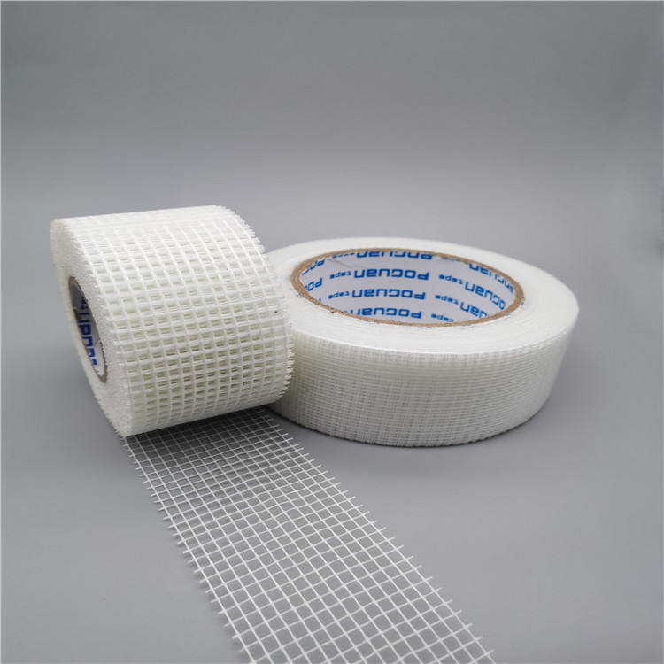 Window & Door Fiberglass Joint Mesh Screen Instant Repair Single Sided Tape / Acrylic Adhesive Tape