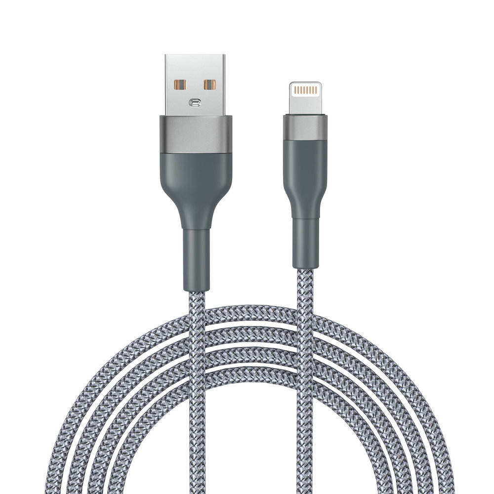 iOS Charging cable For iPhone 12 charger Cable Nylon braided Charging Cable USB lighting Kabel 30cm 1m 2m wholesale