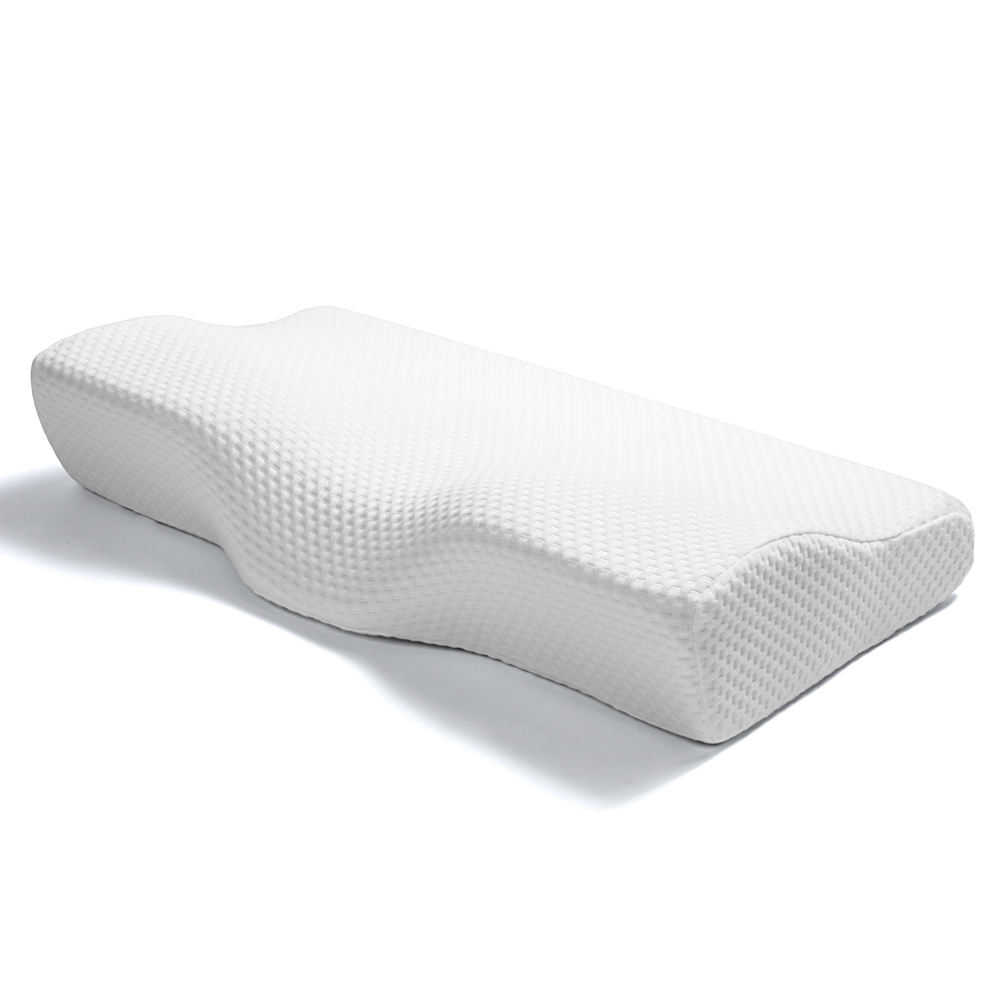 Orthopedic Neck Pain Relief Contour Butterfly Shape Anti Snore Memory Foam Pillow