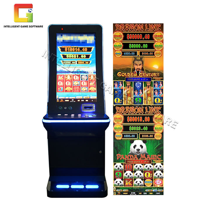 Good Quality 32 Inch Curved Nudge Slot Cabinet Dragon Link Slot Game Higher Profit Arcade Slot Machines