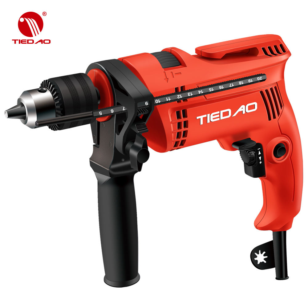 Power tools large power 850W 13MM electric hammer impact drill of Bosch model machine drill TIEDAO TD1305