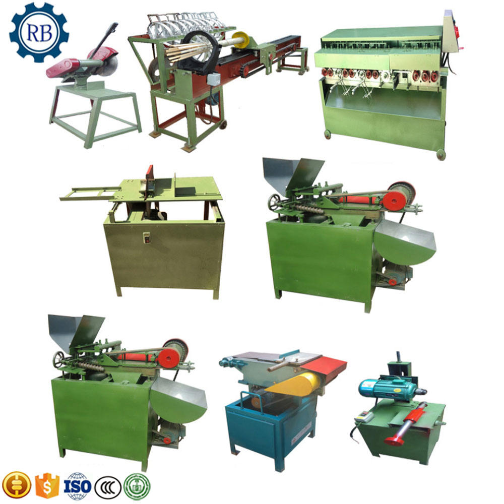 Factory Price Raw Material Bamboo Wood Tooth Picker Toothpick Stick Pick Making Machine Production Line toothpick make machine
