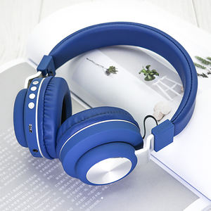 Noise cancelling portable wireless studio foldable wireless headband headphones