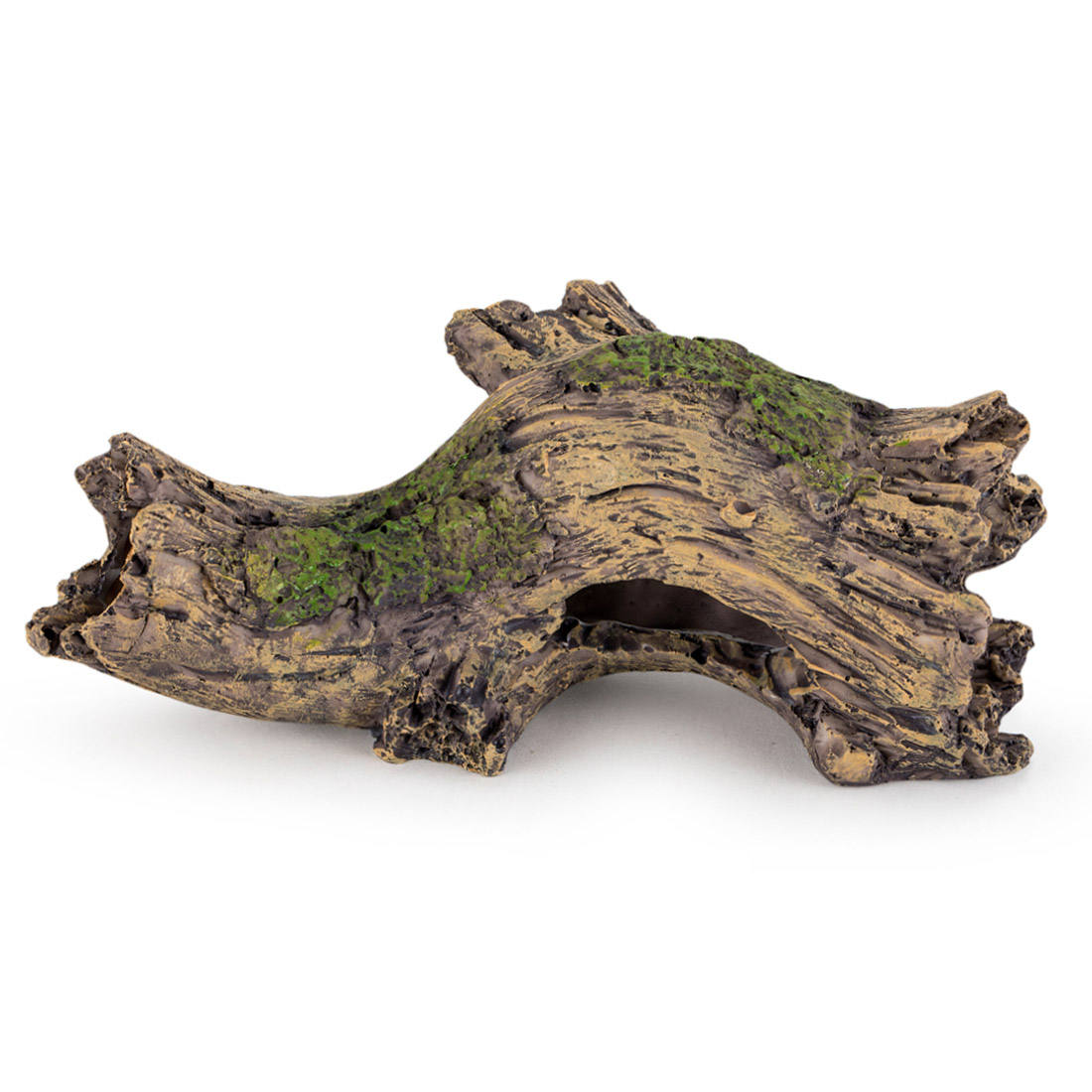 Hygger Verbergen Holle Boom, Aquarium Decoratie Cave Resin Kofferbak Log Ornament Schuilplaats Voor Betta Vis