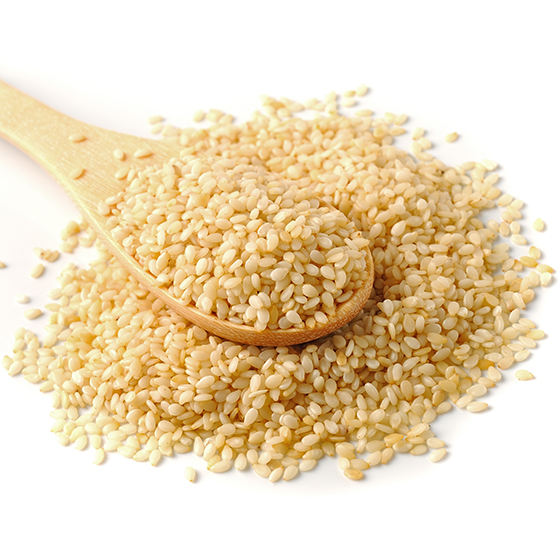 Factory efficient Certified Raw Hulled Sesame Seed in wholesale price