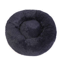 Pet Products Deluxe Pet Supplies Bed Raised Plush Felt Small Round Luxury Egg Dog Pet Bed