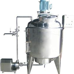 Stainless Steel Jacketed Blending Tank