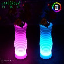 Multicolor changing Waterproof Portable Durable Led Furniture Manufacturer light up Led  garden flower pot planter