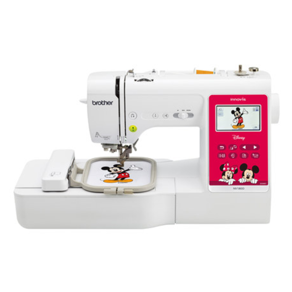 Brother NV180D home Computer embroidery and sewing machine