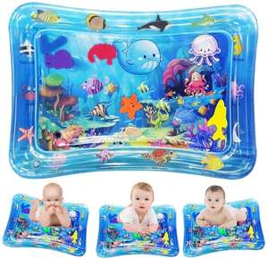 Tummy Time Baby Water Mat Infant Toy Premium Inflatable Play Mat for Infants & Toddlers Newborn 0-2 years Baby old crawl mat