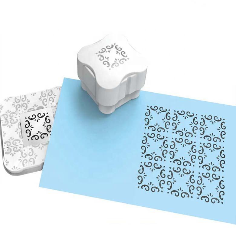 Newest Magnetic hole punch Paper craft punch Embossing hole punch