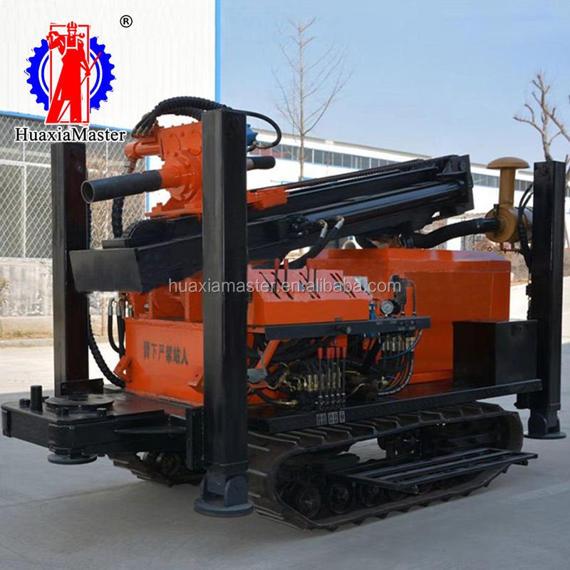 FYX-180 crawler pneumatic water bore well drilling machine can drill large borehole and driving fast on sale