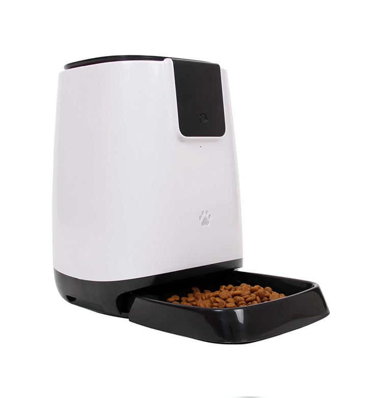 Pet Feeder Food Dispenser for Dog and Cat ,Automatic Pet Food Feeder Bowl