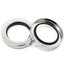 Ceimin 30*50*8 mm Dual  Lip PTFE Stainless Steel Oil Seals Screw Air Compressor Spare Parts    factory outlet