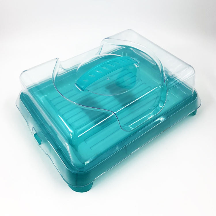 Take away Carrying case with integrated ice bread keeping fresh box