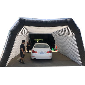 Spray paint polishing detection shelter tent inflatable car tunnel