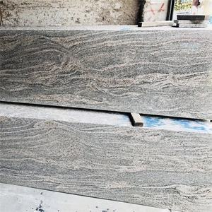 Paradiso zebra pink grey granite China juparana ocean wave stone price for wholesale outdoor tile
