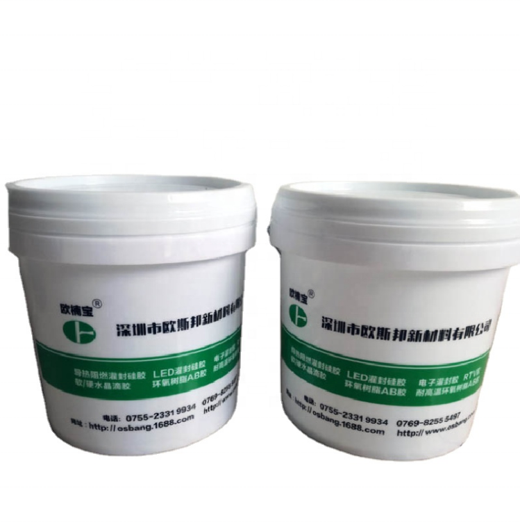 Manufacture Wholesale OS-805 1kg/1 set A:B=3:1 Potting Compound Epoxy Resin For Protecting Electronic Components