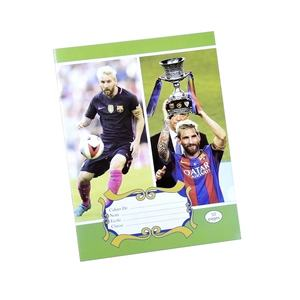 Cuadernos Escolares Al Por Mayor Custom Notebook Printing Football Star