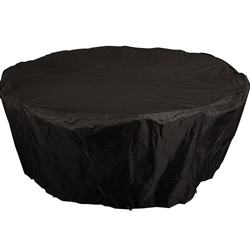 outdoor waterproof black round patio table cover Dinner Protector Dust-Proof Patio Table Cover Furniture Covers