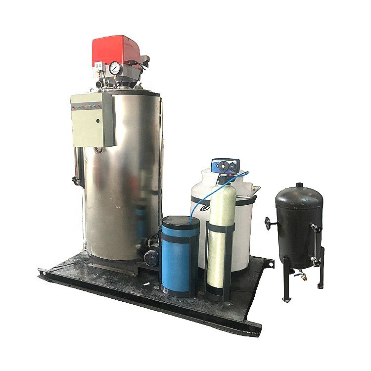 CE certified 200Kg/H Vertical Type LPG Gas Steam Boiler