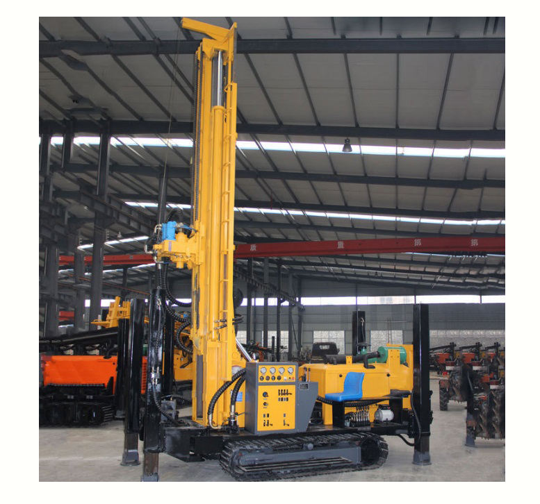 200meter depth factory price crawler water well drill rig