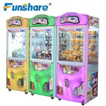 arcade entertainment game cheap coin operated toy claw crane machine for sale