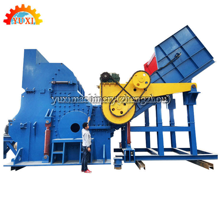 Factory Direct Sale Scrap Steel Metal Crusher Machine Impact Used Metal Hammer Mill Crusher For Sale