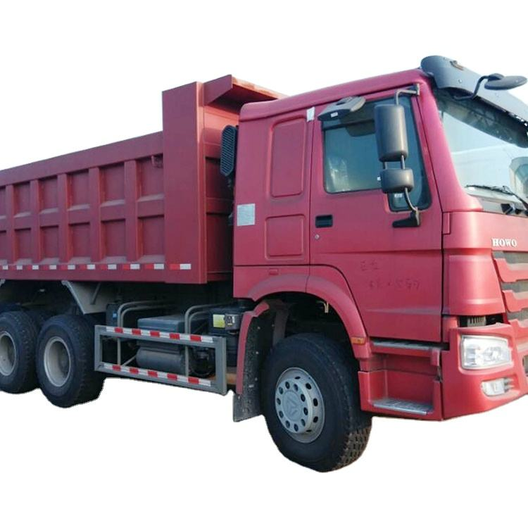 HOWO Good price 6x4 dump truck with 371hp long dump truck