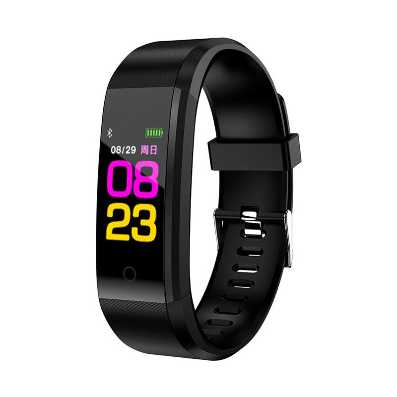 IP67 waterproof sport smart watch with heart rate step calories 115 plus Android watches smart band
