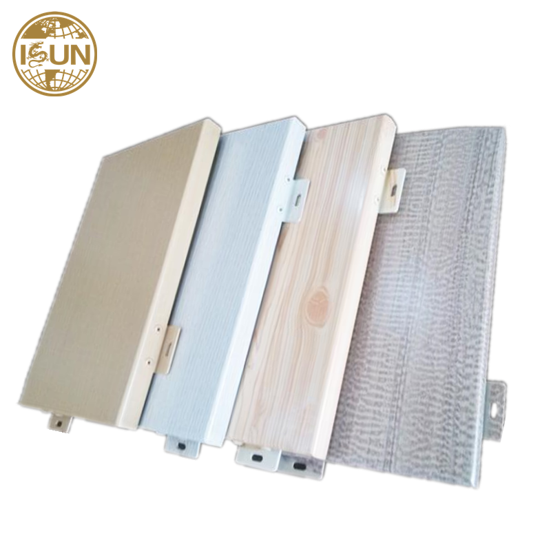 best price Exterior decoration aluminium profile curtain wall aluminum veneer