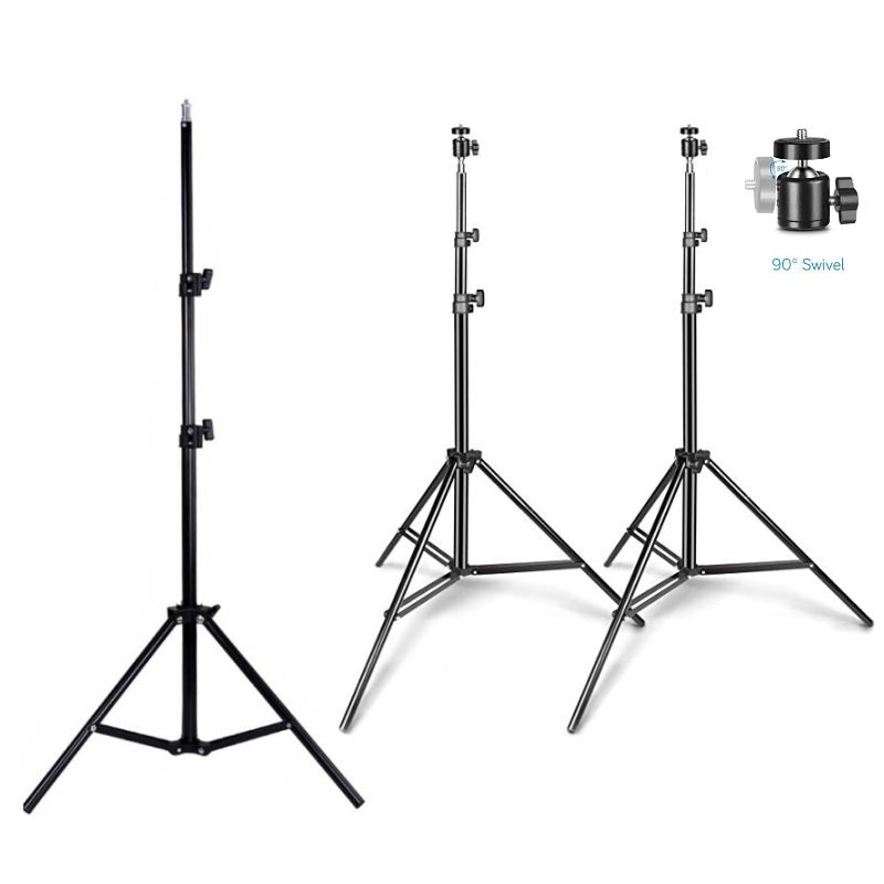 1.6M 2.1M Fotografie <span class=keywords><strong>Statief</strong></span> Fotografie Light Stand Balhoofd Voor <span class=keywords><strong>Camera</strong></span> Foto Lamp Bracket Holder Softbox Ring Lamp <span class=keywords><strong>video</strong></span>