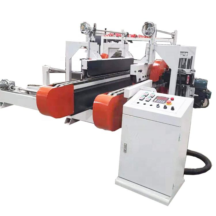 WS2600B woodworking fully automatic variable speed double end milling machine for wood floor