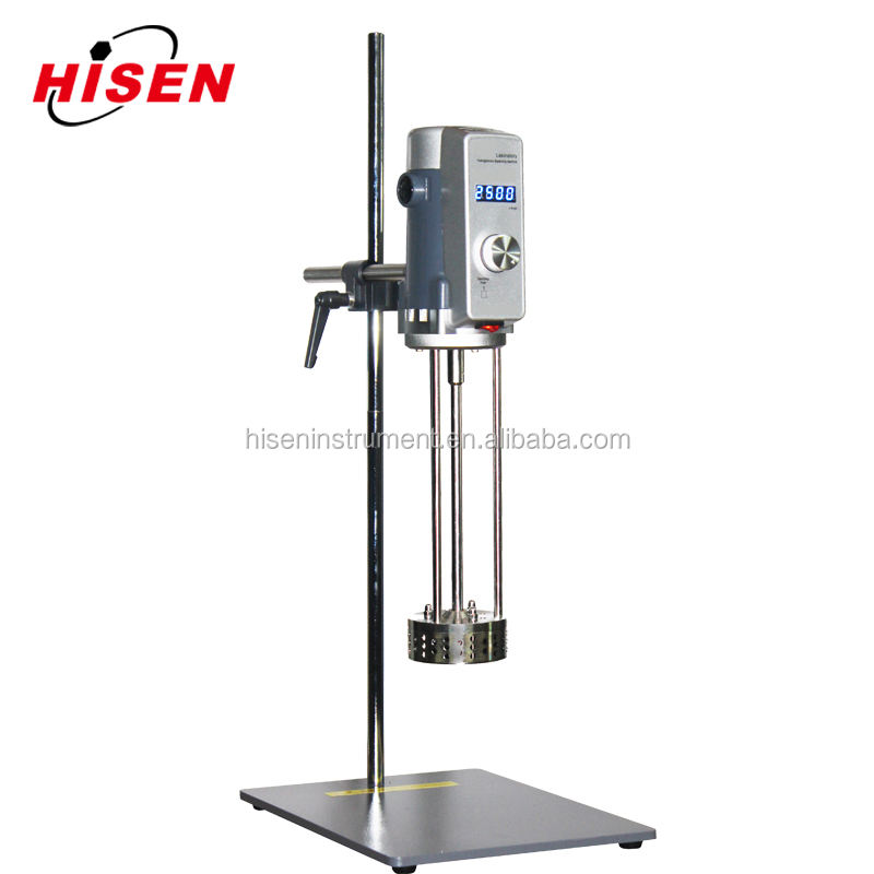 Easy to operate lab homogenizing mixer for liquid experiment