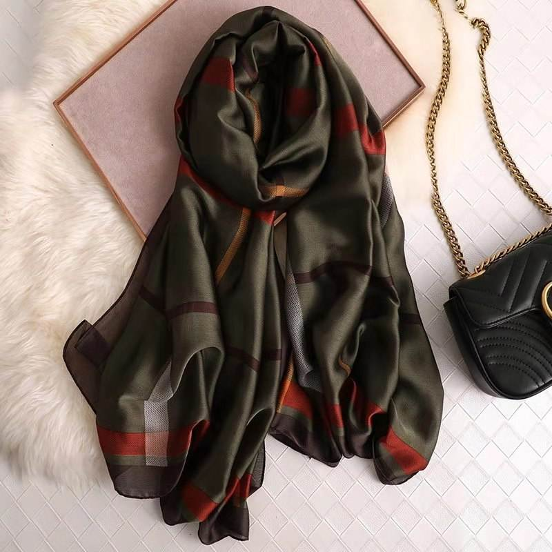 Wholesale New Designs Women/Ladies 100%Polyester Scarf