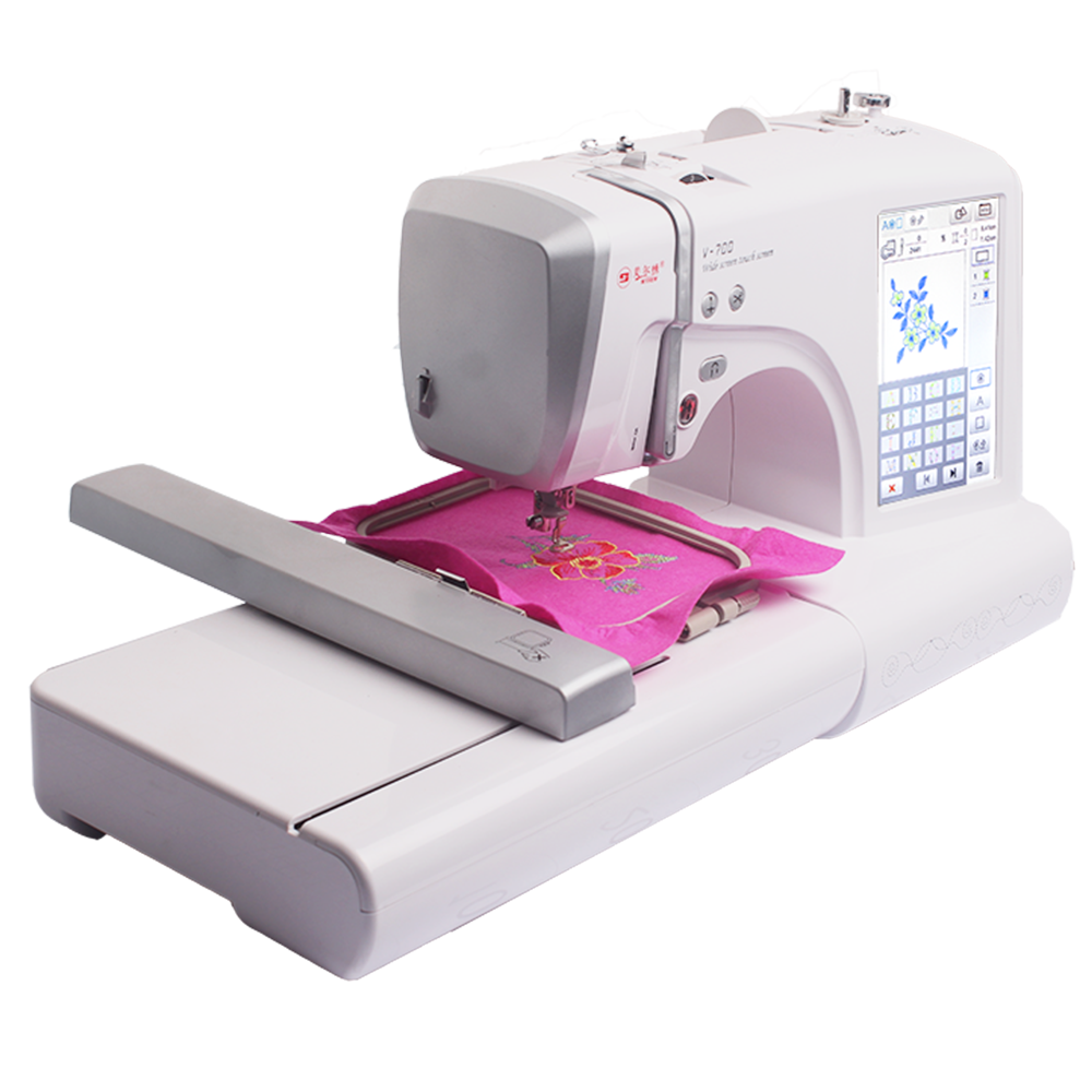 MRS v700 sewing Embroidery machine multifunctional household sewing machine fully automatic computerized embroidery machine