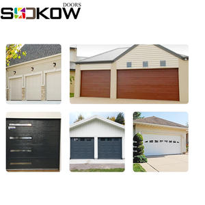 cheap sectional automatic garage door panels sales