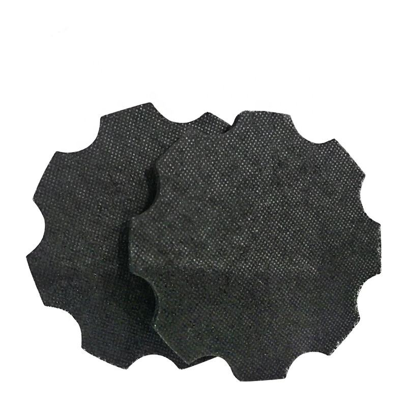 Kitchen Use Activated Carbon Filter Mesh Disc Fiber