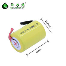 Rechargeable battery 2500mah ni-mh sc 1.2v rechargeable battery replacement batteries for cordless drill