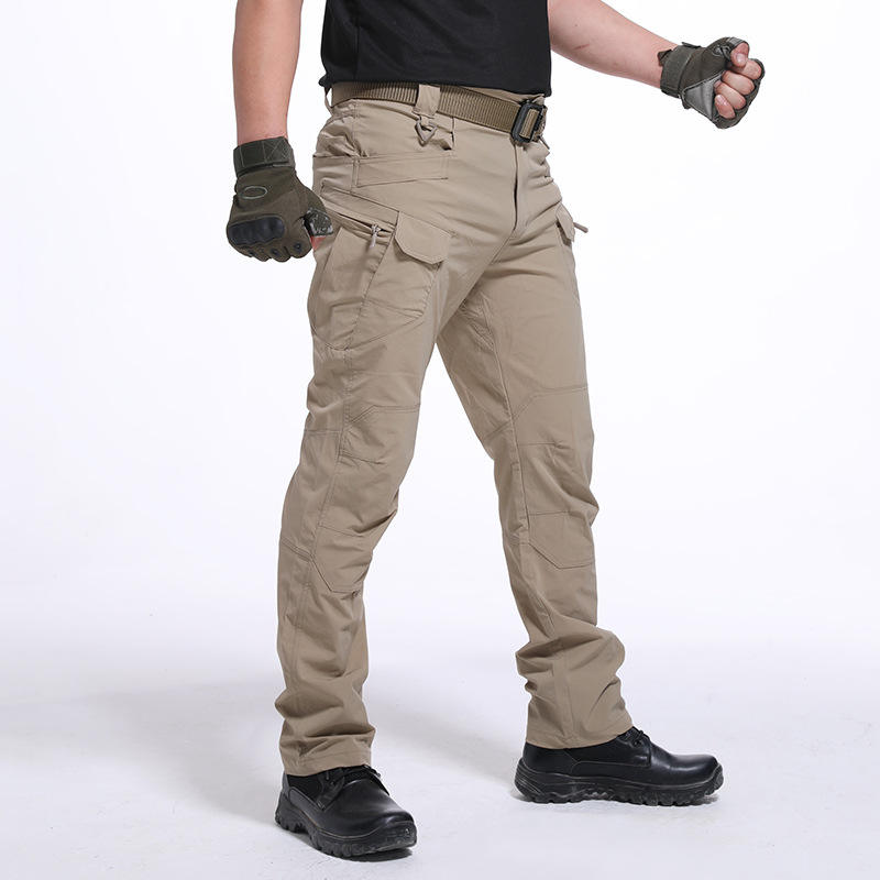Tactical Army Pants SWAT Trousers Combat Multi-Pockets Training Pants Men's Cargo Pants